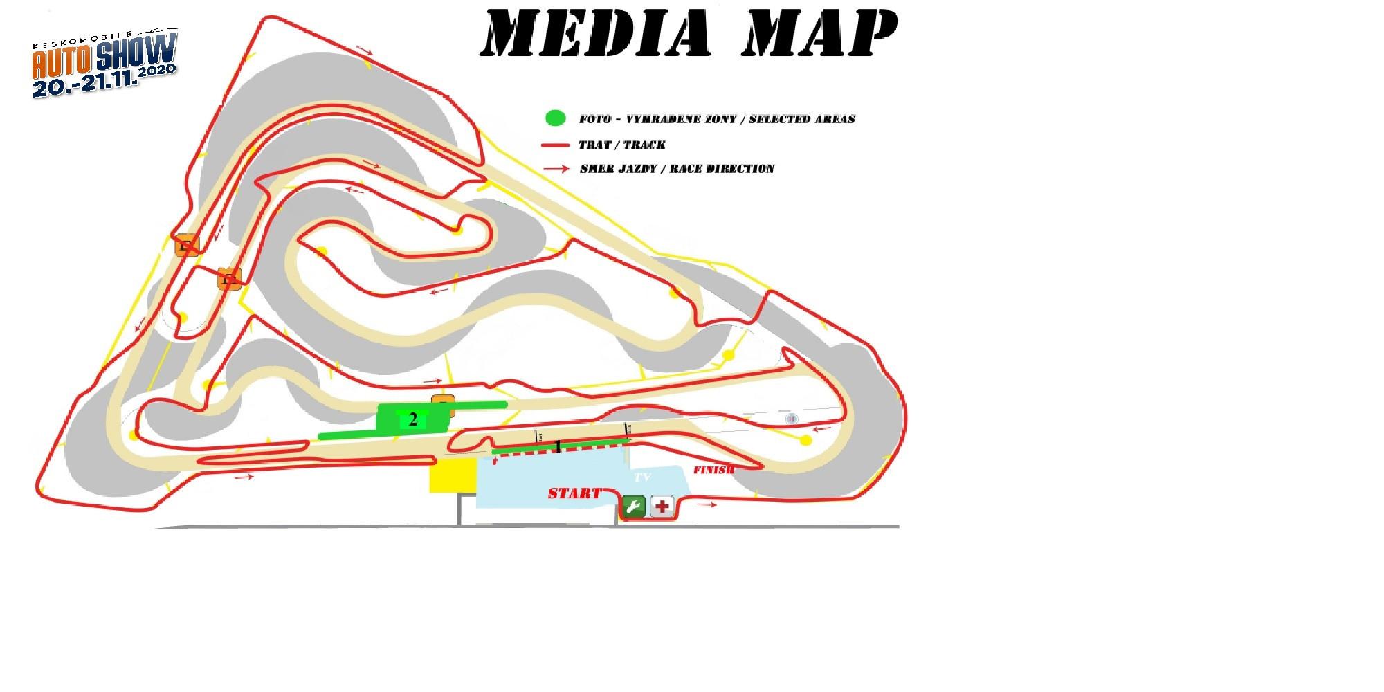 Media mapa auto show 2020