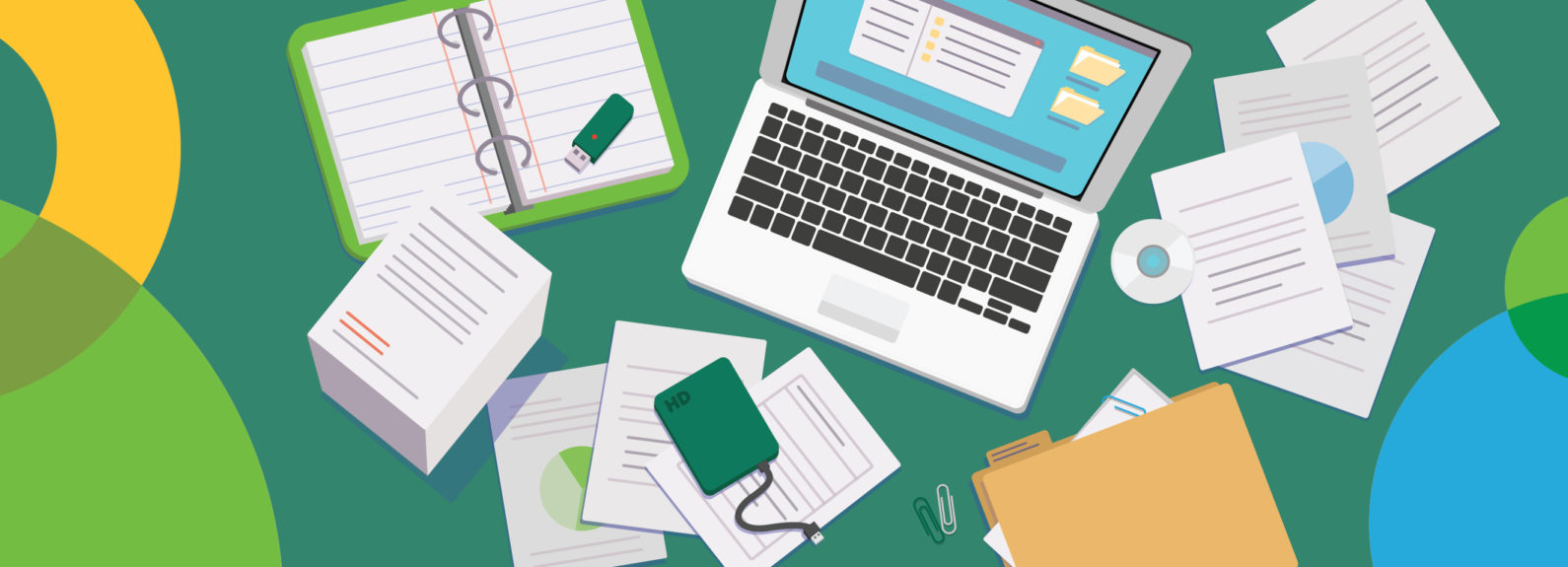 Social media financial documents what to keep and what to toss hero
