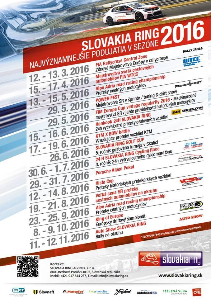 Kalendar podujati 2016 new